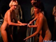 These sluts suck cock