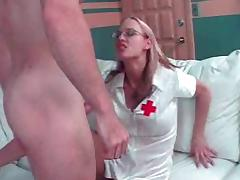 young busty slut nurse