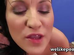 All, Brunette, Close Up, Fetish, Peeing, Pissing