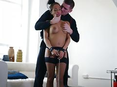 Hot And Nasty Romana Ryder Gets Drilled Hardcore In Bondage