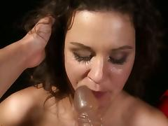 The femdom game with Brandy Smile and Sophie Lynx