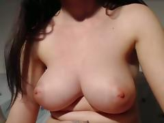 Big firm natural tits with puffy nips