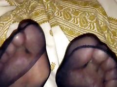 Rein  pantyhose feet