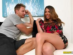 milf gets fingered and drilled doggystyle in reality