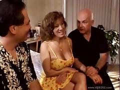 Naughty mature studs fuck a busty milf sweetheart anal hardcore