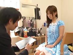 Minami Kojima gets fucked and facialed after hot fingering