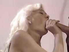 Raunchy Blonde Milf free video
