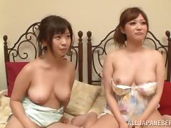 Foursome, Asian, Banging, Big Tits, Foursome, Group