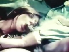 Vintage Interracial Sex Clip Of White Snatch With Darksome Knob
