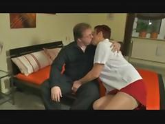 Older BBW Mature Gets Cock
