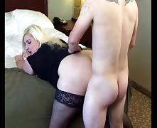 BBW Blonde Lets Herself get Fucked