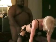 BBW ebony drills crossdresser