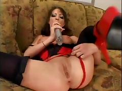 Hardcore Babe Needs Two Cocks To Satify Her