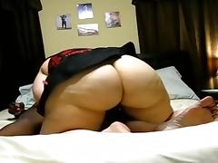 Mature BBW with black man