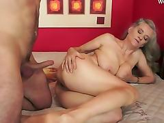 Mom and Boy, Couple, Mature, Old, Pussy, Teen