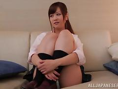 Hardcore toying action with gagged Japanese milf Yukino Kawai