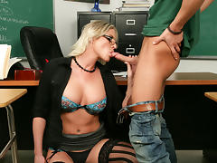 Brittanie Lane & Seth Gamble in My First Sex Teacher
