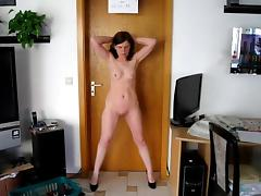 Posing, Amateur, BDSM, Posing, Slave, Strip