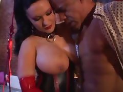 Busty Latex Milf Rosanna Rose