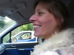 Swinger German Couple Carsex Outdoor