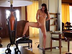 Trembling orgasm for 18 yr old Aidra Fox