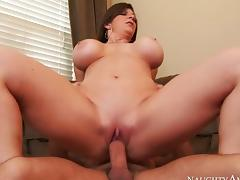 Mommy Fucks With Her Son Friend