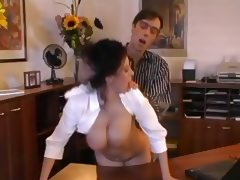 Beatrice Busty Secretary Office Sex porn video