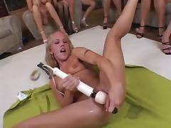 Female Ejaculation, Lesbian, Masturbation, Party, Squirt, Female Ejaculation