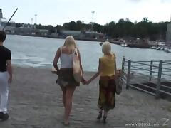 Nasty Teens Fingering Licking And Drilled Doggystyle In Public Beach